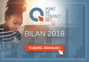 illustration bilan Point de Contact 2018